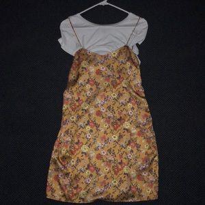 T-shirt silk dress